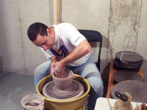 Throwing a bowl