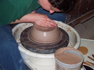 Centering all the clay